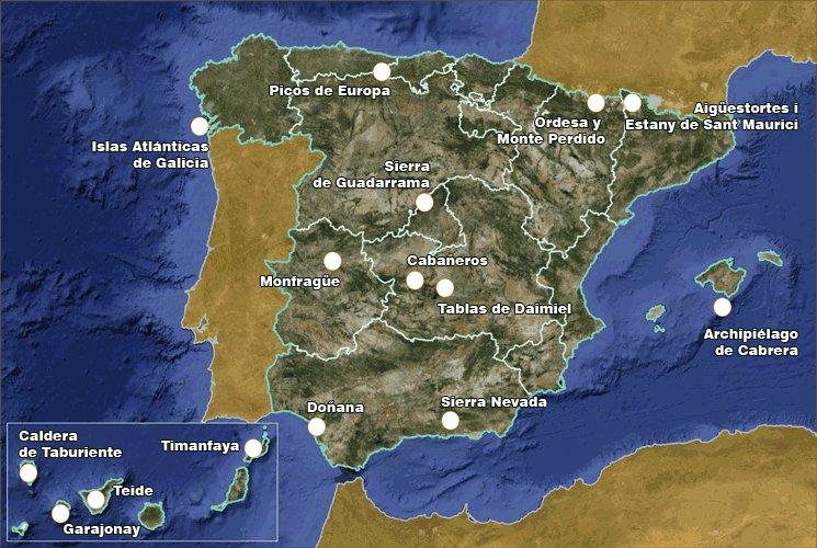Los 15 Parques Nacionales De Espa 241 A Spanish In Nature